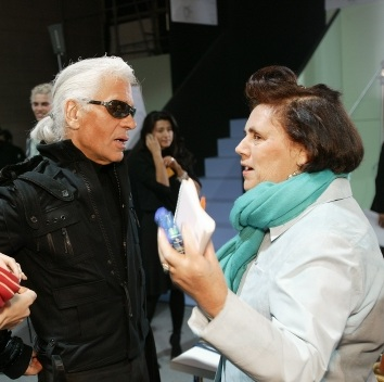 Suzy Menkes, International Vogue Editor, announces that Karl Lagerfeld will speak at the very first Condé Nast International Luxury Conference, held in partnership with Swarovski.